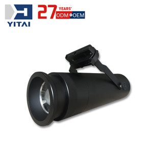 Yitai Customized CNC Machining Aluminum Alloy Die Casting LED Track Lamp/ Track Light Housing