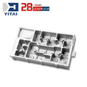 Yitai One-stop Solution CNC Manchining Aluminum Die Casting Telecom Equipment