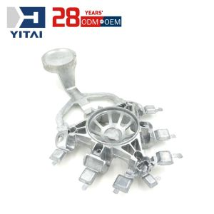 Yitai Foshan CNC Machining Supplier Aluminum Die Casting Auto Spare Car Parts