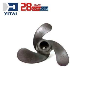 Yitai Mould Making Factory Aluminum Alloy Die Casting Marine Propeller Parts