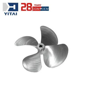 Yitai Professional Custom Durable Aluminum Alloy Die Casting Marine Equipment Marine Screw Propeller
