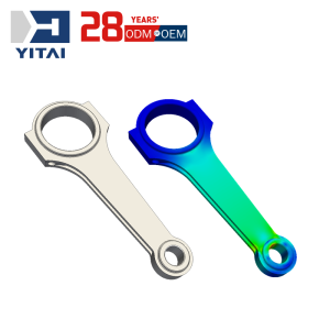 Yitai OEM Mold Making Aluminum Alloy Die Casting Auto Spare Parts Rear Stabilizer Link