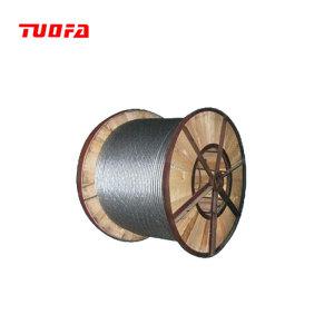 Hebra de acero galvanizado