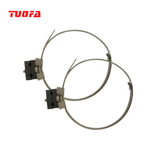 High quality ADSS optical cable metal down lead clamp for electrical cable fittings