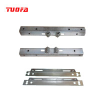 Hot dip galvanized steel cross arm /angle steel for electric power fittings