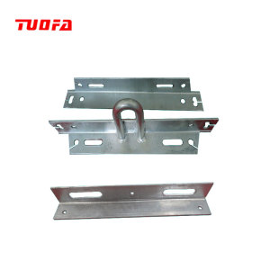 Customization hot dip galvanizing steel electrical cross arm