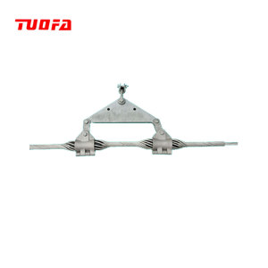 preformed suspension clamp