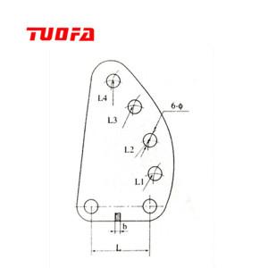 high quality yoke plate/overhead transmission line hardware