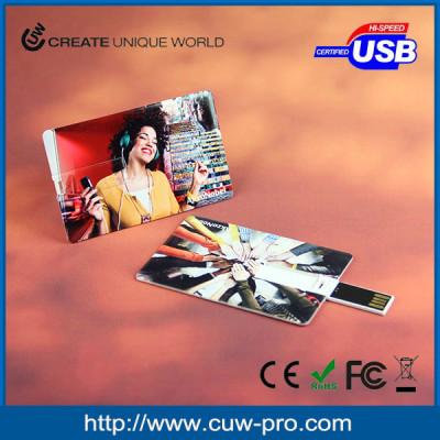 business card usb key with digital print no minimum