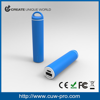 custom emergency portable carabiner power bank rubber finish with CE FCC ROHS for cellphone