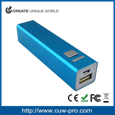 mobile accessories usb charger portable 2200/2600/3000mah smart power bank recharge factory produce