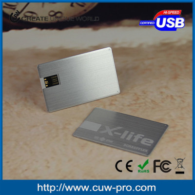metal business card usb stick for promotion