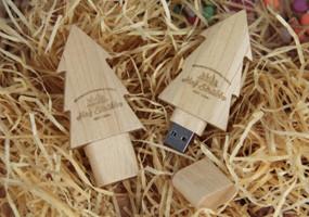 wood usb drives