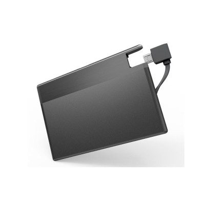 wholesale ultra thin credit card power bank for promotion gift 850mAh, 1050mAh, 1350mAh