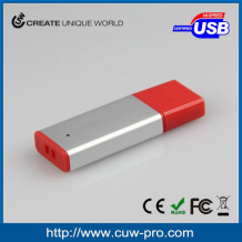 aluminium usb stick 16GB 32GB with customized logo for promitional items