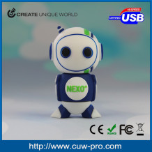 Best selling individual robot usb flash memory for intelligence industry