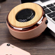 How about Good-Looking Mini Bluetooth Speaker with PU Leather Lanyard?