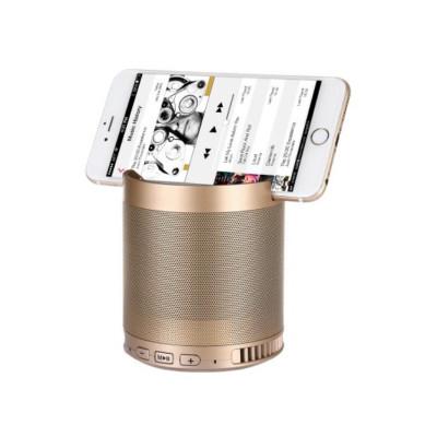 2017 mini audio multifunctional LED wireless bluetooth speaker with phone holder