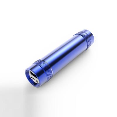 Best Promotional Gift Customized Logo Universal 5000mAh Pocket Power Bank with LED Flashlight
