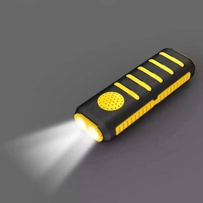 combined power bank speaker 2 in 1 4000mAh with high-light dual torch flashlight