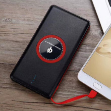 How to use a wireless power bank charger?