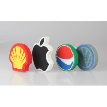 Customized PVC Wireless Charger in your LOGO shape!