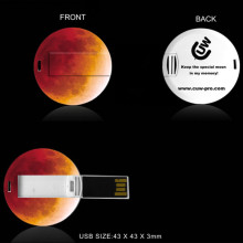 Super Moon + Blue Moon + Red Moon 152 years one time! Our usb moon is waiting for you!