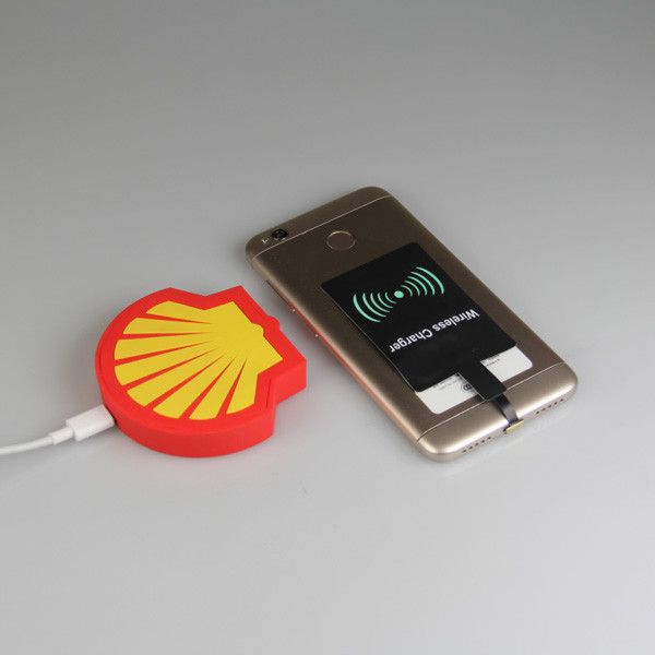 shell shape wireless charger