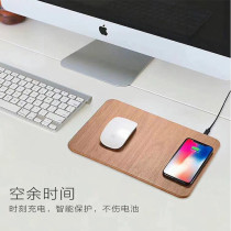 mouse pad qi wireless charger for iPhone X / 8 / 8 Plus