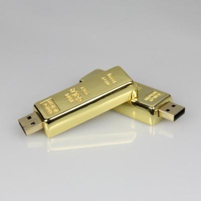 gold bar usb pendrive 64MB-64GB for bank gift