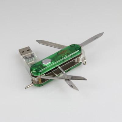swiss army knife usb key with logo printing