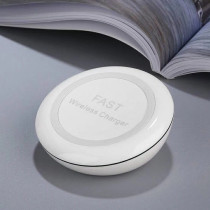 private design fast wireless charger with UV varnish