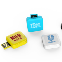 2017 September New arrival swivel usb flash drive with doming epoxy logo