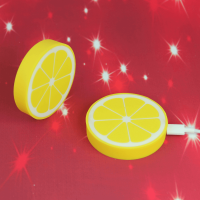 lemon shape Qi wireless charger for Samsung