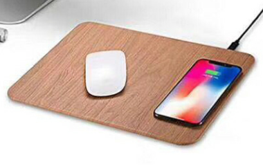 wireless charger & mouse pad 2 in 1