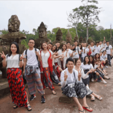 CUW Team Spring Tour to Cambodia