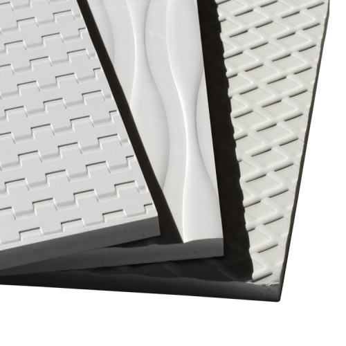 Embossing board, light weight,water-proof, perfect material for bathroom Cabinet