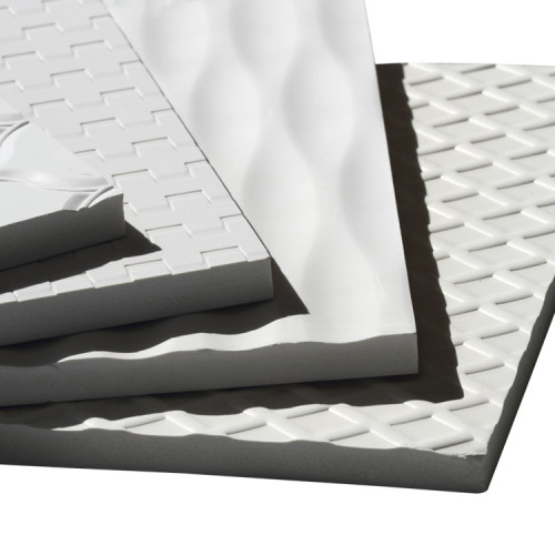 PVC Embossing board with various design, light weight easy to install