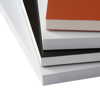 High glossy Super Rigidity Board,  PVC Co-extruded foam board for ambulance cabinet