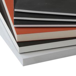 High glossy Super Rigidity Board,  PVC Co-extruded foam board for ambulance cabinet