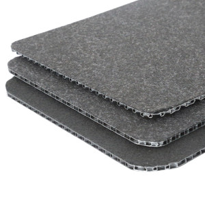 Boardway™ PP honeycomb trunk flooring with non-woven fabric