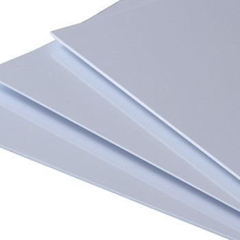 High glossy water-proof PVC white rigid sheet for kitchen and ceiling