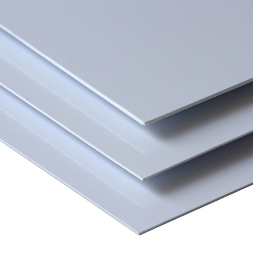PVC Rigid Sheet white series for decoration and industrial manufacture