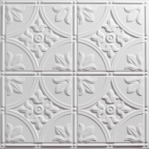 Boardway ceiling tiles manufactured from PVC with a smooth or decorative surface texture