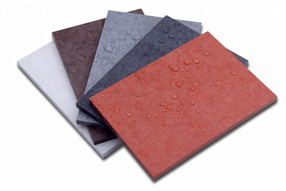 Introduction Of  the Cement Board Color