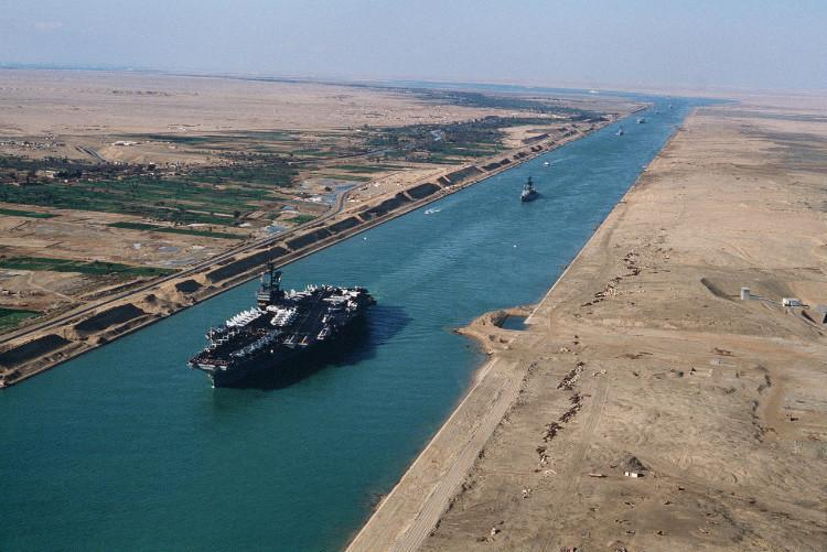 The greatest Suez Canal