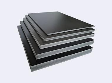 grey black pvc foam board