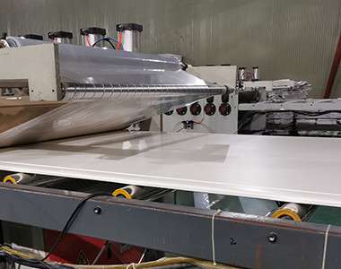 pvc foam board with transparent film