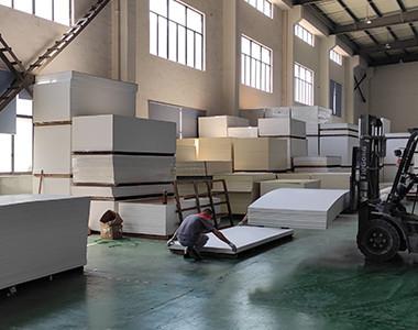 expanded pvc foam board warehouse