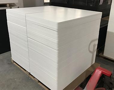 pvc foam board cut to small size